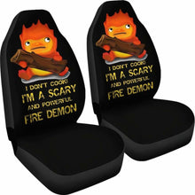 Load image into Gallery viewer, Calcifer Car Seat Covers 1 Universal Fit 051012 - CarInspirations