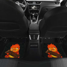 Load image into Gallery viewer, Calcifer Ghibli In Black Theme Car Floor Mats Universal Fit 051012 - CarInspirations