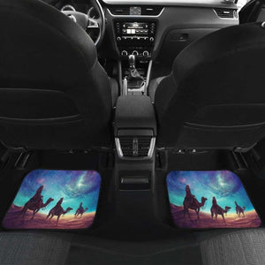 Camel On Sahara In Galaxy Theme Car Floor Mats Universal Fit 051012 - CarInspirations