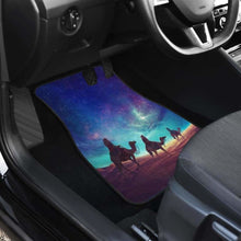 Load image into Gallery viewer, Camel On Sahara In Galaxy Theme Car Floor Mats Universal Fit 051012 - CarInspirations
