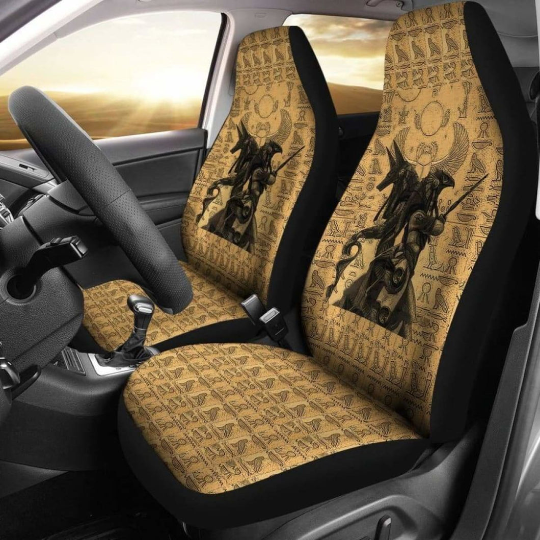 Car Seat Cover - Anubis And Osiris 234929 Universal Fit - CarInspirations
