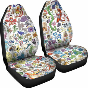 Car Seat Covers - Pokemon 234929 Universal Fit - CarInspirations