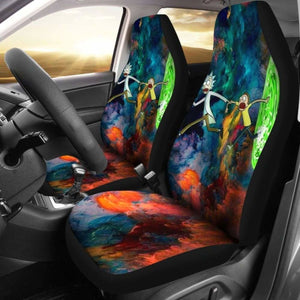 Car Seat Covers Rick And Morty 094128 Universal Fit - CarInspirations
