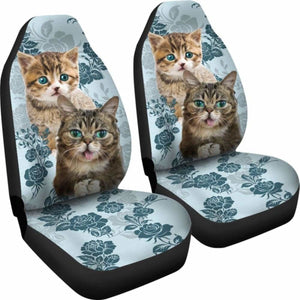Cat Car Seat Cover 234929 Universal Fit - CarInspirations