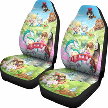 Load image into Gallery viewer, Chibi Ghibli Studio Car Seat Covers Universal Fit 051012 - CarInspirations
