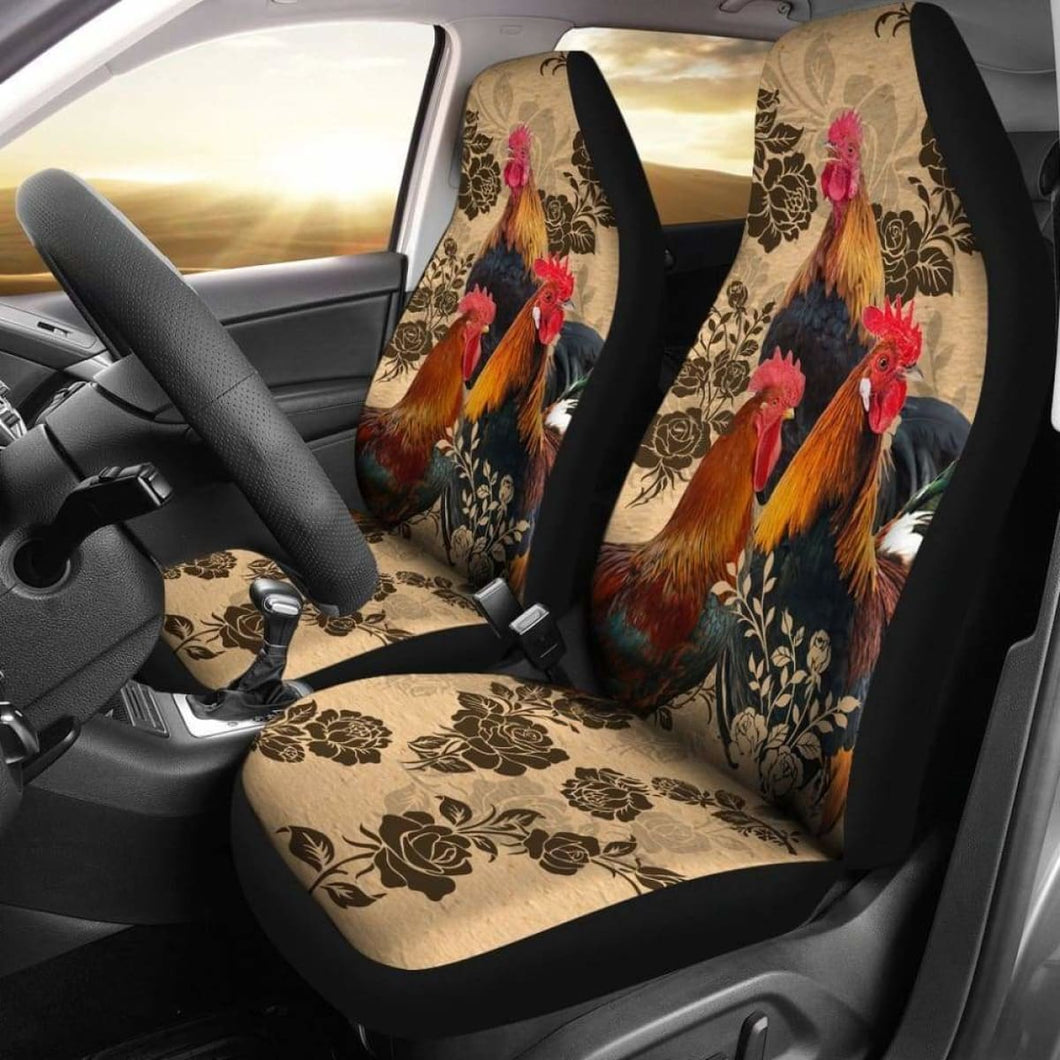 Chicken Car Seat Cover 234929 Universal Fit - CarInspirations
