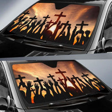 Load image into Gallery viewer, Christian Auto Sun Shades 918b Universal Fit - CarInspirations