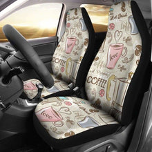 Load image into Gallery viewer, Coffee Car Seat Covers Universal Fit 051012 - CarInspirations