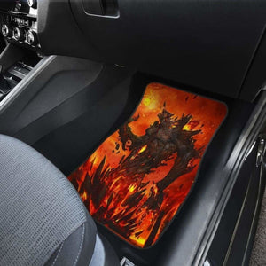 Colossus Of Fire Car Floor Mats Universal Fit 051012 - CarInspirations
