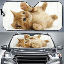 Load image into Gallery viewer, Cute Cat Auto Sun Shades 918b Universal Fit - CarInspirations