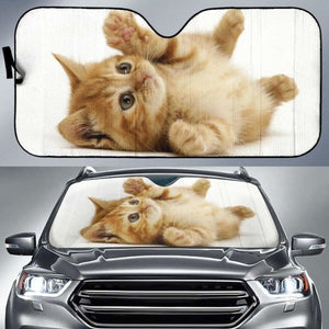 Cute Cat Auto Sun Shades 918b Universal Fit - CarInspirations