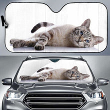 Load image into Gallery viewer, Cute Cat Car Sun Shades 918b Universal Fit - CarInspirations