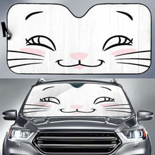 Load image into Gallery viewer, Cute Cat Eyes Car Sun Shades 918b Universal Fit - CarInspirations
