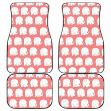 Load image into Gallery viewer, Cute Elephant Chibi Funny In Pink Theme Car Floor Mats Universal Fit 051012 - CarInspirations