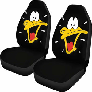 Daffy Duck Seat Covers 101719 Universal Fit - CarInspirations