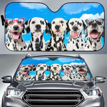 Load image into Gallery viewer, Dalmatian 1 Auto Sun Shades 918b Universal Fit - CarInspirations