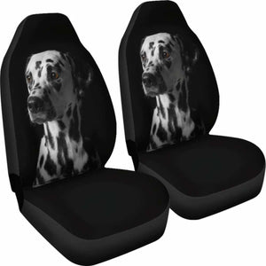 Dalmatians Seat Covers 1 101719 Universal Fit - CarInspirations