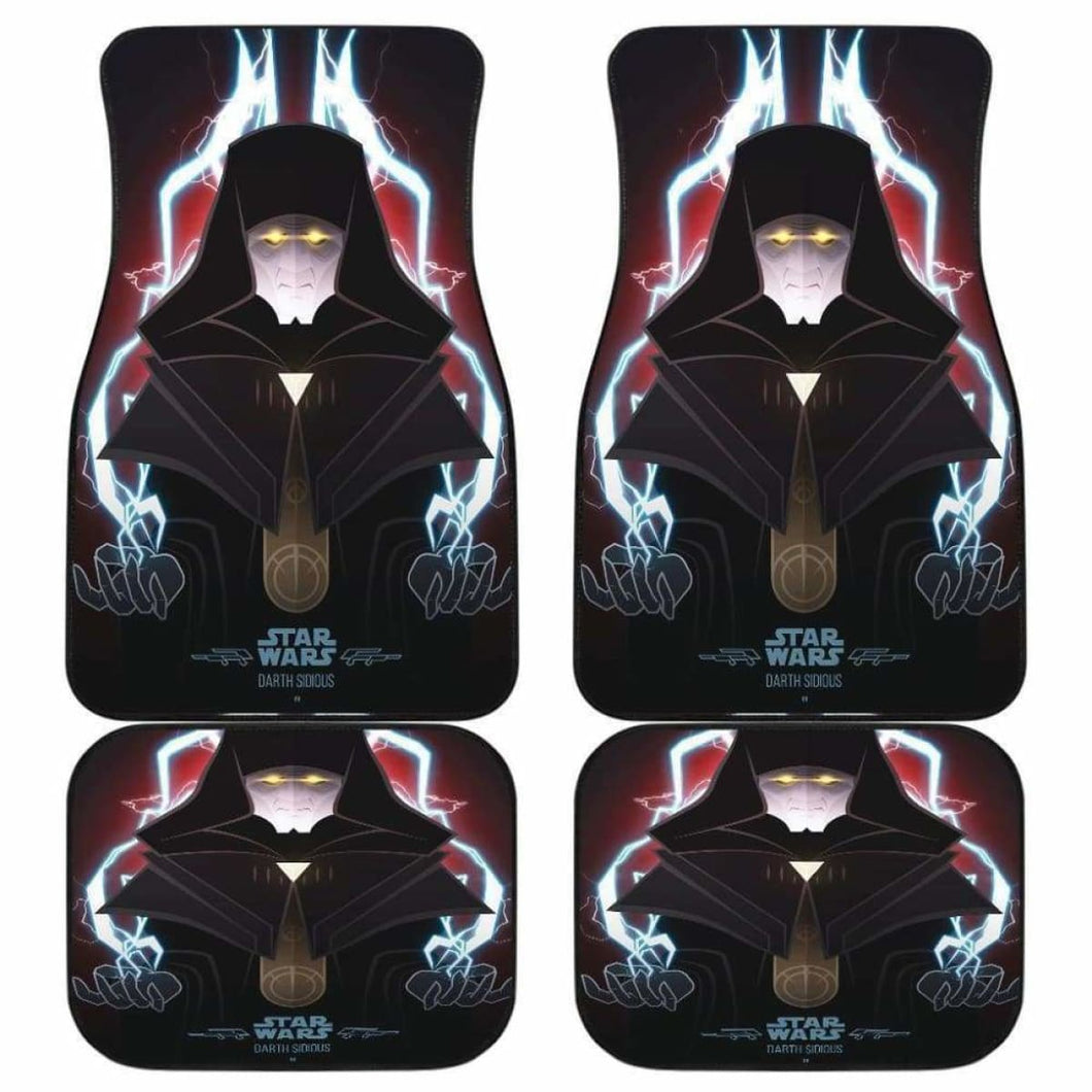 Darth Sidious Star War Car Floor Mats Universal Fit 051012 - CarInspirations
