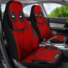 Load image into Gallery viewer, Deadpool Cartoon Marvel Car Seat Covers Universal Fit 051012 - CarInspirations