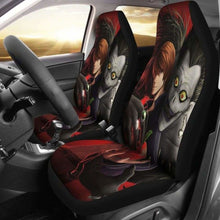Load image into Gallery viewer, Death Note Car Seat Covers 1 Universal Fit 051012 - CarInspirations