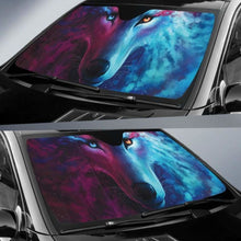 Load image into Gallery viewer, Digital Wolf Car Sun Shades 918b Universal Fit - CarInspirations