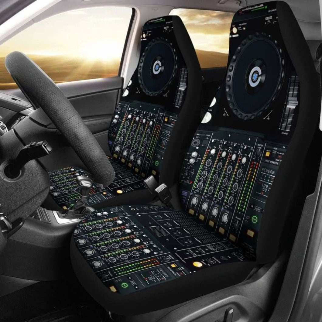 Dj Techtools Controller Car Seat Covers (Set Of 2) Universal Fit 051012 - CarInspirations