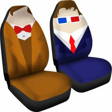 Load image into Gallery viewer, Dr Who - Car Seat Covers - (Set of 2) Universal Fit - CarInspirations