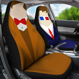 Dr Who - Car Seat Covers - (Set of 2) Universal Fit - CarInspirations