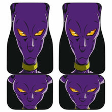 Load image into Gallery viewer, Dragon Ball Beerus Cat God Car Floor Mats Universal Fit 051012 - CarInspirations
