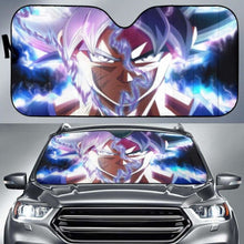 Load image into Gallery viewer, Dragon Ball Goku Ultra Instinct Car Sun Shades 918b Universal Fit - CarInspirations