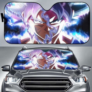 Dragon Ball Goku Ultra Instinct Car Sun Shades 918b Universal Fit - CarInspirations