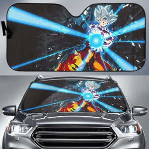 Dragon Ball z Car Auto Sun Shade 211626 Universal Fit - CarInspirations