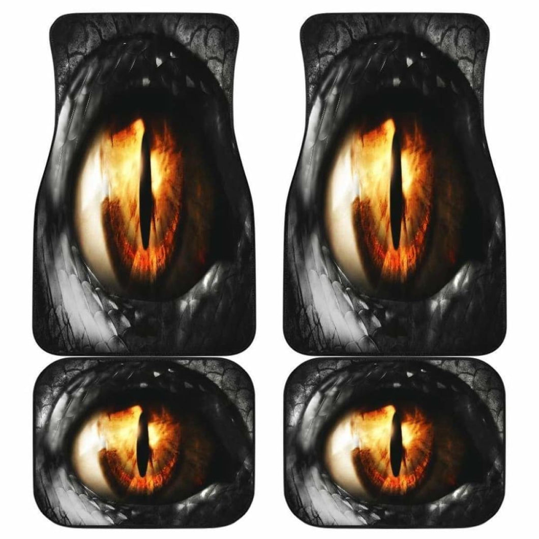 Dragon Eyes Angry Car Floor Mats Universal Fit 051012 - CarInspirations