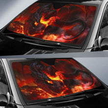Load image into Gallery viewer, Dragon Fire Car Sun Shades 918b Universal Fit - CarInspirations