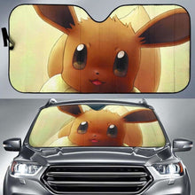 Load image into Gallery viewer, Eevee Pokemon Auto Sun Shades 918b Universal Fit - CarInspirations