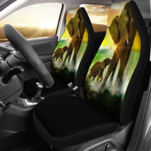 Load image into Gallery viewer, Elephant Baby & Mom Car Seat Covers Universal Fit 051012 - CarInspirations