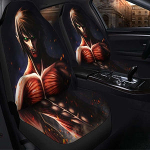 Eren Attack On Titans Seat Covers 101719 Universal Fit - CarInspirations