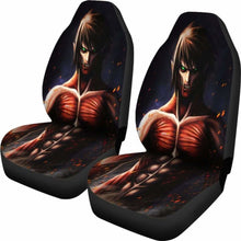 Load image into Gallery viewer, Eren Attack On Titans Seat Covers 101719 Universal Fit - CarInspirations