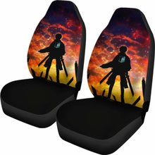 Load image into Gallery viewer, Eren Yeager Attack On Titan Car Seat Covers Universal Fit 051012 - CarInspirations