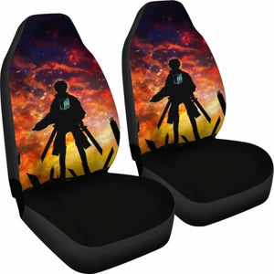 Eren Yeager Attack On Titan Car Seat Covers Universal Fit 051012 - CarInspirations
