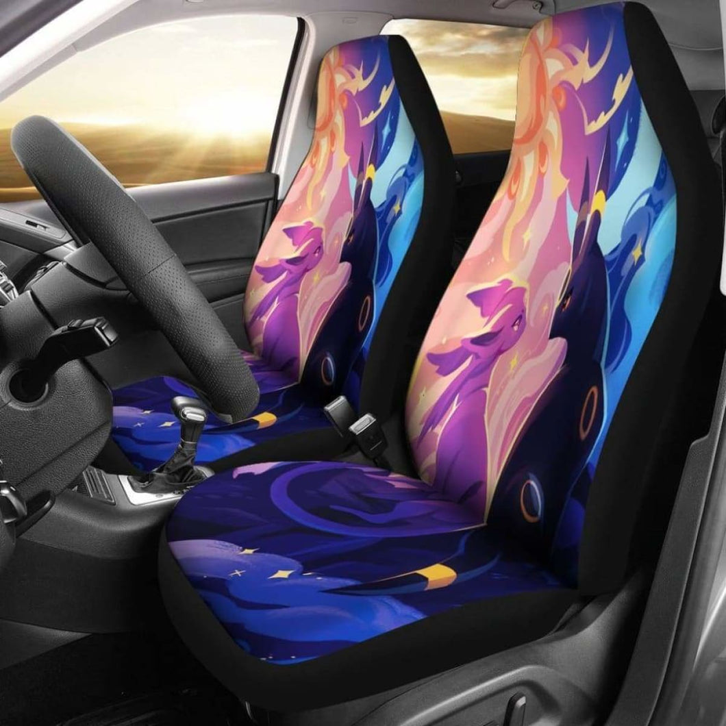 Espeon & Umbreon Car Seat Covers Universal Fit 051012 - CarInspirations