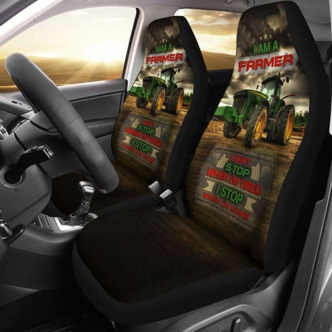 Farmer Car Seat Cover 234929 Universal Fit - CarInspirations