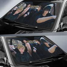 Load image into Gallery viewer, Final Fantasy IV Auto Sun Shades 918b Universal Fit - CarInspirations