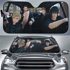 Final Fantasy IV Auto Sun Shades 918b Universal Fit - CarInspirations