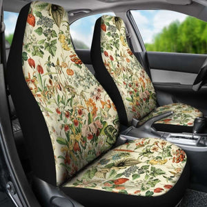 Flowers Car Seat Cover 234929 Universal Fit - CarInspirations