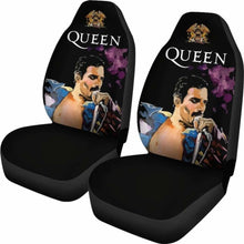 Load image into Gallery viewer, Freddie Mercury Queen Famous Car Seat Covers (Set Of 2) Universal Fit 051012 - CarInspirations