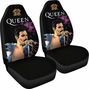 Freddie Mercury Queen Famous Car Seat Covers (Set Of 2) Universal Fit 051012 - CarInspirations
