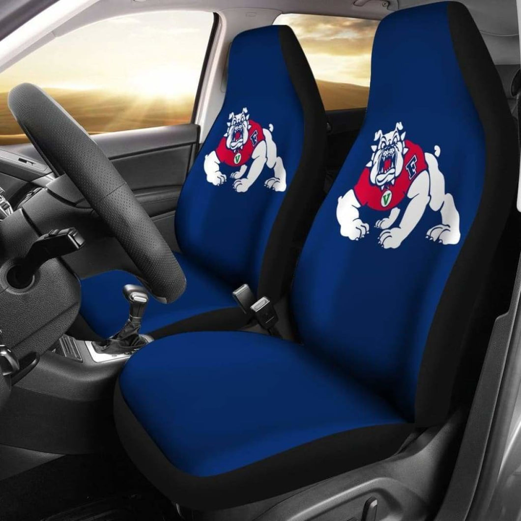 Fresno State Gear Car Seat Covers 100421 Universal Fit - CarInspirations