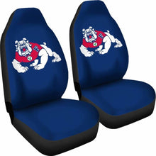 Load image into Gallery viewer, Fresno State Gear Car Seat Covers 100421 Universal Fit - CarInspirations