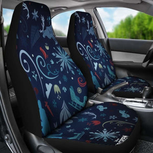 Frozen Car Seat Covers Universal Fit 051012 - CarInspirations